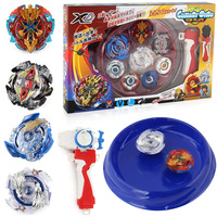 New Free Shipping 4pcs Set Beyblade Arena Spinning Top Metal Fight Byblade Metal Fusion Children Gifts