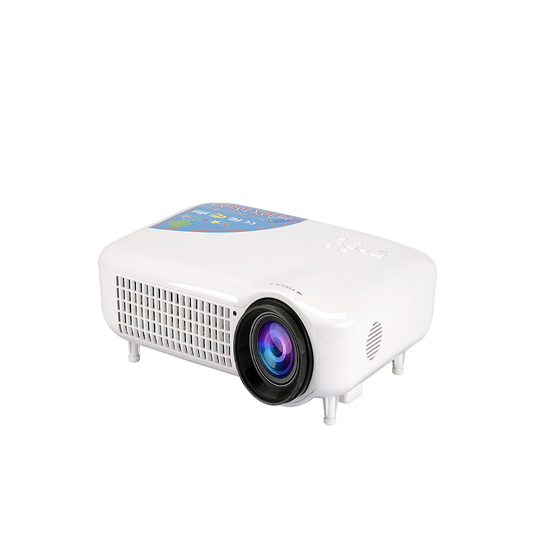 Support 4K LED LCD Android 4.4 WiFi Smart Projector With