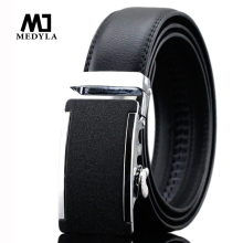 Male Luxury Belts for Men 100% Genuine Leather Brand Automatic Alloy Buckle Strap Cummerbund Male Belt Designer Leather Strap