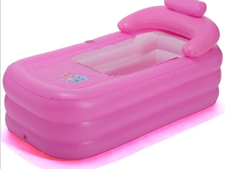 adult spa folding portable bathtub inflatable bath tub. Black Bedroom Furniture Sets. Home Design Ideas