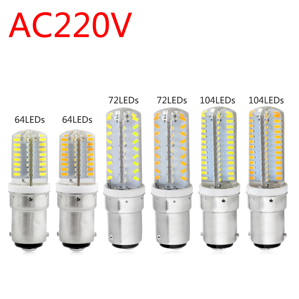 1PC Lampada LED Lights B15 Led Bulb Lamp 220v 230v 240v Mini Lamp 3014 2835 SMD Silicone LED Corn Lamp Bulb Replace Home Lights стоимость