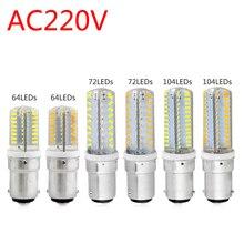 1PC Lampada LED Lights B15 Led Bulb Lamp 220v 230v 240v Mini 3014 2835 SMD Silicone Corn Replace Home