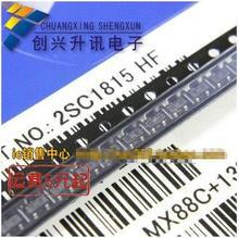 2SC1815 Silk screen::HF  SOT-23 10=0.8 50pcs fmmt619ta fmmt619t fmmt619 619 sot 23