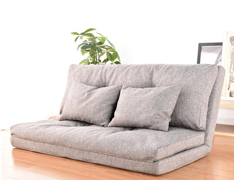 Adjustable Floor Couch and Sofa for Living Room and Bedroom Foldable with 14 Reclining Position Love Seat Couch Gaming Sofa Bed