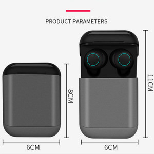 Image 5 - Bluetooth earphone TWS Earbuds Wireless Bluetooth Earphones Stereo Headset Bluetooth Earphone With Mic and Charging Box free