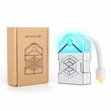 WENNI LED Toilet Light PIR Night Motion Sensor Lamp Backlight For Bowl Lighting Veilleuse 16 Colors WC