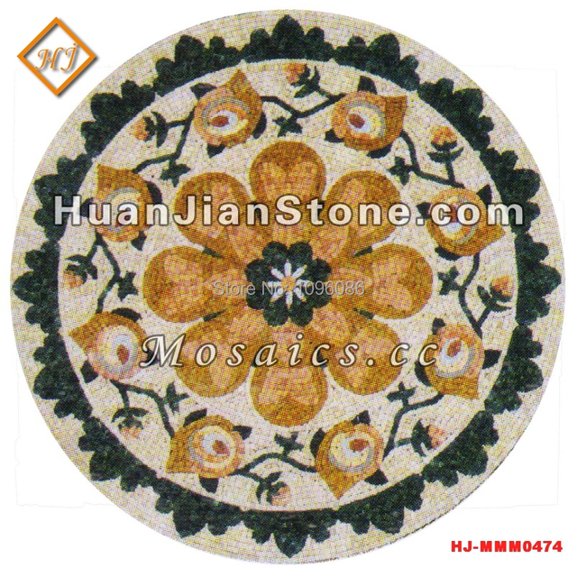 Medallion Marble Floor Designs Tiles Stone mosaic Patterns Kitchen ...