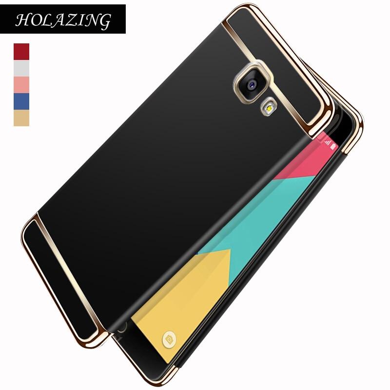 Galleria fotografica Full Body Protective Hard PC Bumper Cover for Samsung Galaxy A3 2016 A5 2017 A7 2018 A320 A520 A720 A510 Anti Finger Scub Case