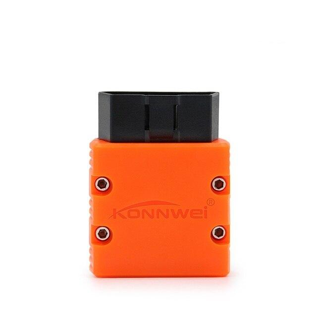 Chegada nova Bluetooth OBD-II OBD2 Bluetooth Scanner KONNWEI KW902 Detector de Falhas Auto Ferramenta de Diagnóstico Frete Grátis