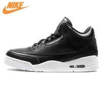 Nike Air Jordan 3 Retro Sport Men S Basketball Shoes Comfortable Sports Outdoor Sneakers Black Color
