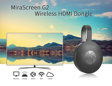 2017 MiraScreen G2 TV Stick Dongle Anycast Crome Fundido Miracast WiFi Pantalla Receptor Chromecast HDMI 2 Mini PC Androide de la TV