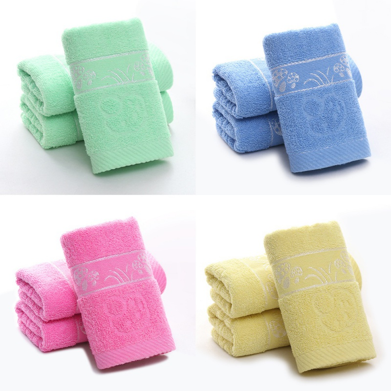Shower Towel Broke: Cotton Weak Jacquard Mushroom Broken Towel Hand Bathroom