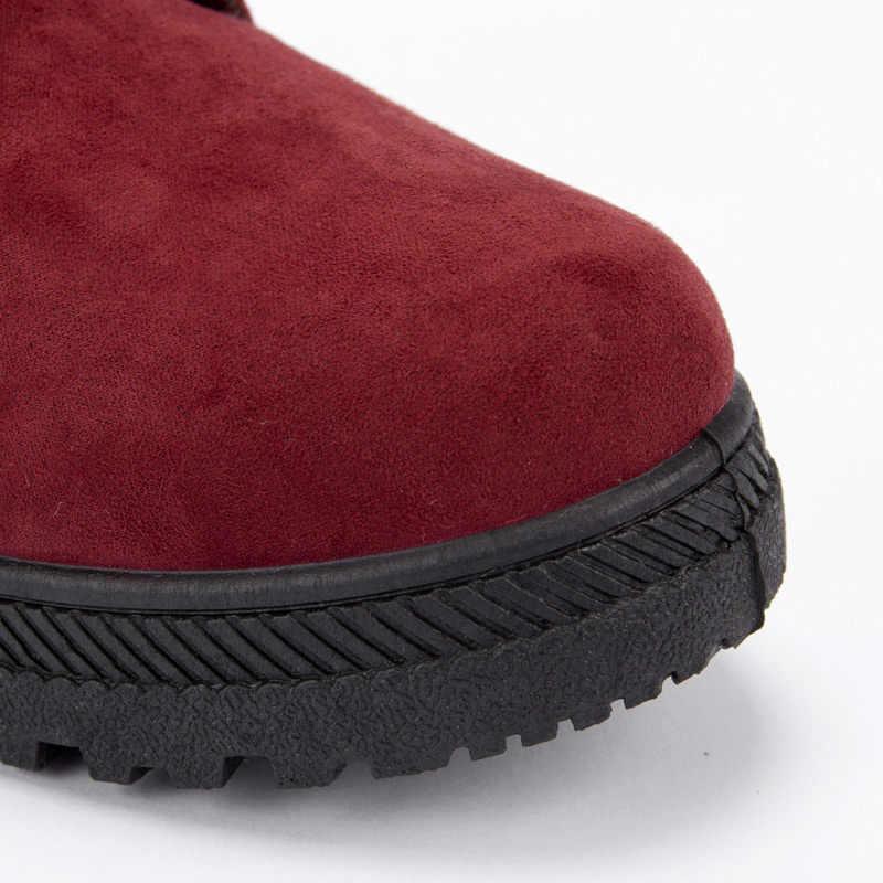 2018 Yüksek Kaliteli Kadın Botları Kış Rahat Marka sıcak ayakkabı Unisex Çizmeler Deri Peluş Kürk Moda Bot Ayakkabı Kadın