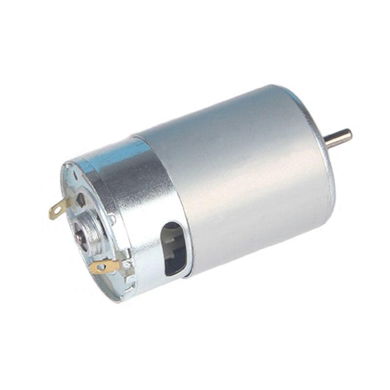 1 Pc RS-550 Motor DC12V Micro Motores Elétricos para Vários Aparafusadora sem fio Broca de Mão Mini Motor Do Motor da Ferramenta De Poder