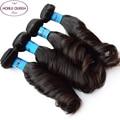 Raw Indian Hair 4 Bundles 10A Grade Virgin Unprocessed Human Hair Bundles Indian Virgin Hair Aunty Funmi Boucy Curly Hair
