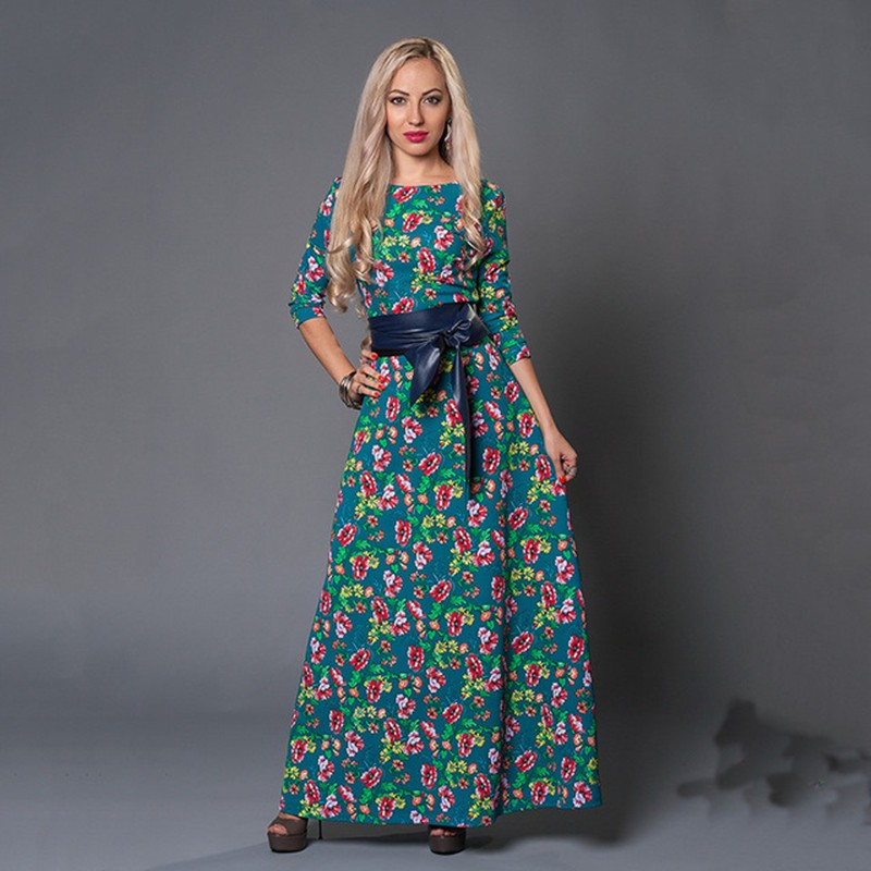Autumn-summer-women-flower-printing-dress-o-neck-three-quarter-sleeve-long-maxi-dress-vintage-causal.jpg_640x640
