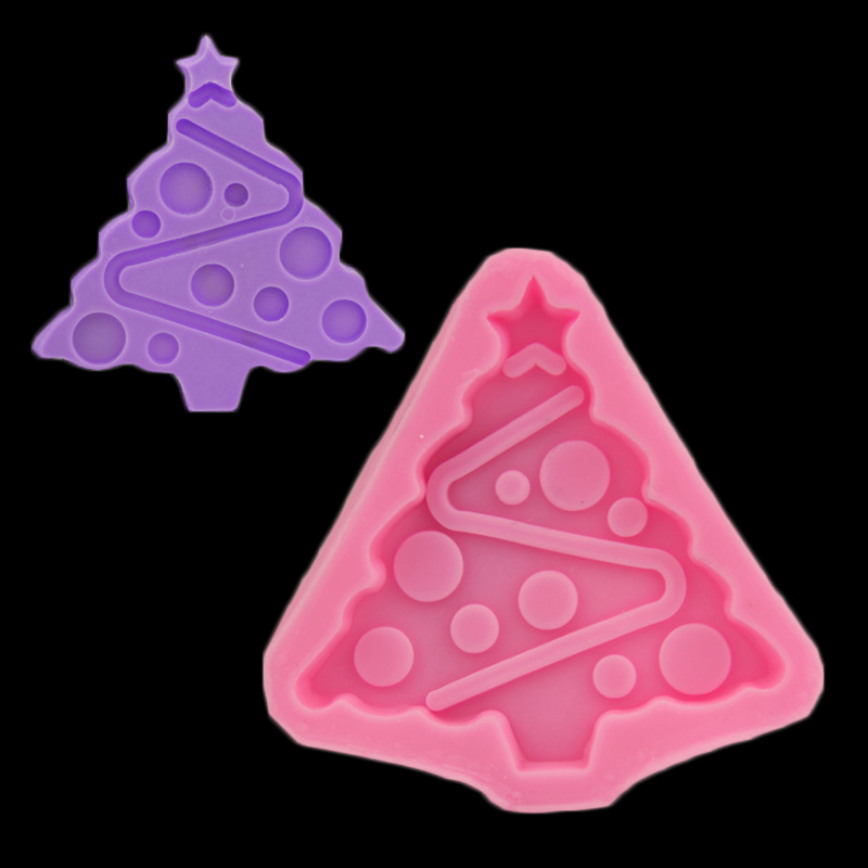 Diy Árbol De Navidad Decoración de la Torta de Azúcar Herramienta de Cocina Para