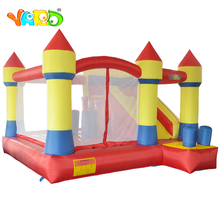 цена на YARD Bounce House Inflatable Bouncy Castle Obstacle Course Trampoline With Slide Inflatable Castle Ship By Express Free Blower