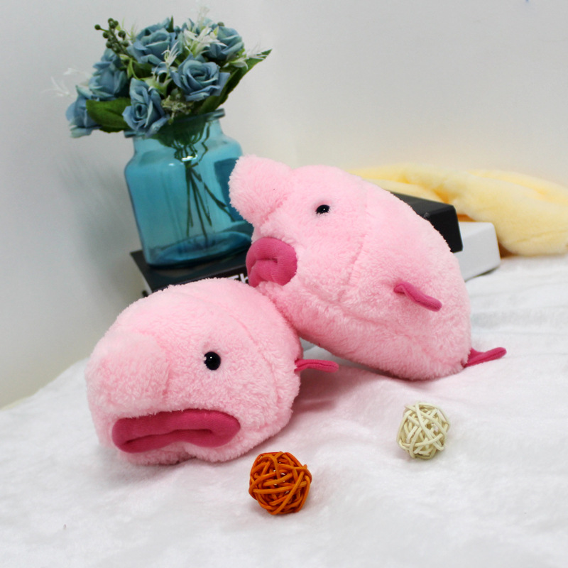 20cm Kids Soft Cotton Stuffed Plush Toys Pink Ugly Fish Doll Toy for Baby Children Pillow Decoration Xmas Birthday Girl Gift flamingo plush toy pillow pink flamingo cushion baby girl princess room decoration kids doll girls gift home decorate