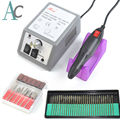Nail Art Drill Professional Electric Machine Manicure Pedicure Pen Tool Set Kit device for manicure nail drill bit