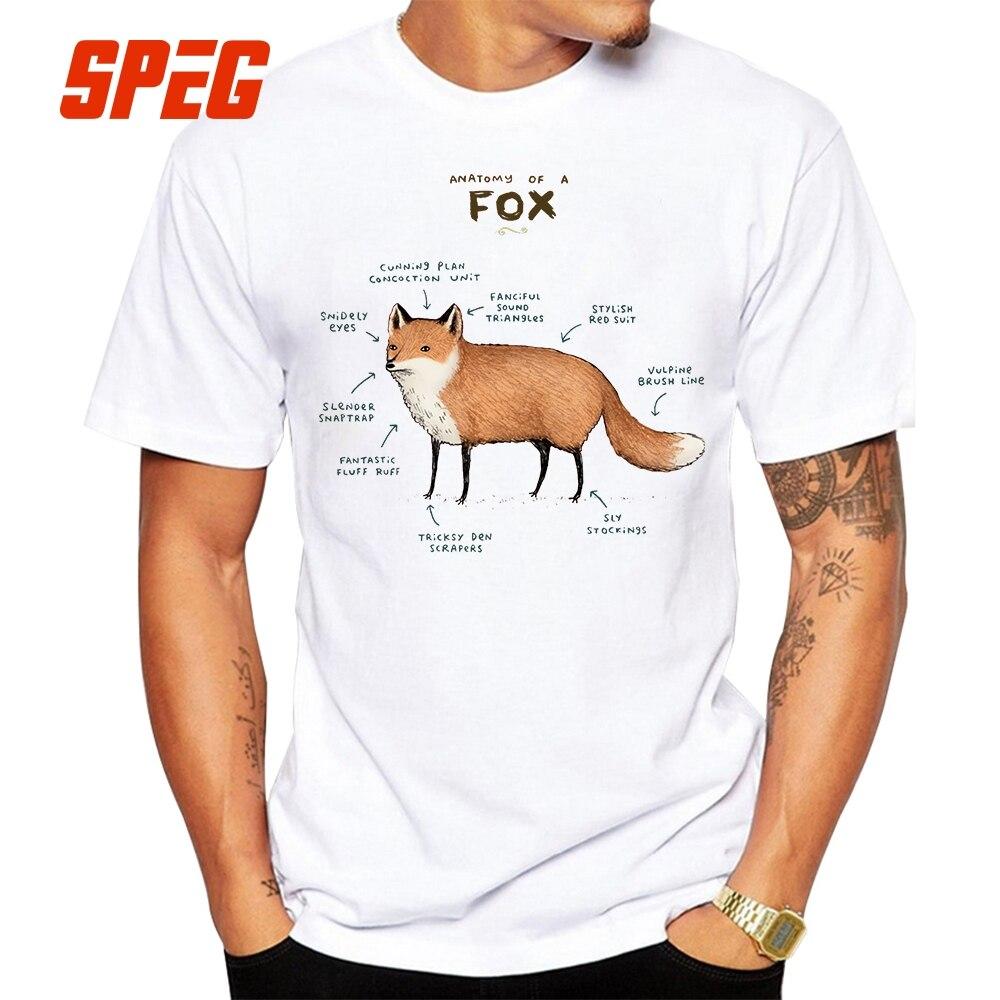 Anatomy of Animals T Shirt Pug Dog Chicken Cow Fox Goat Rabbit Maine ...