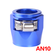 AN10 Hose Finisher Clamp/Clip 10 AN APS Aluminium Alloy Fuel/Oil/Radiator/Rubber Fuel Oil Water Pipe Jubilee Clip Clamp