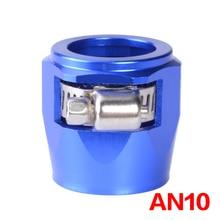 An10 braçadeira de acabamento de mangueira/clip 10 an aps liga de alumínio combustível/óleo/radiador/borracha fuel oil water pipe jubilee clip clamp