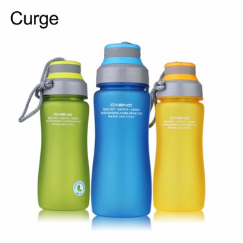 CURGE Brand BPA Free 600ml Leak Proof Sports Plastic Water Bottle Portable Rope With Tea Insuser Drop shipping #1123