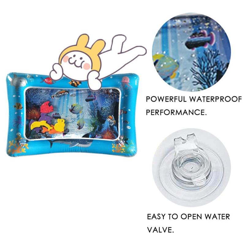 4 Size Baby Water Mat Inflatable Infant Tummy Time Playmat Portable And Foldable Tapis De Jeux Bebe Aquarium Baby Water Cushion