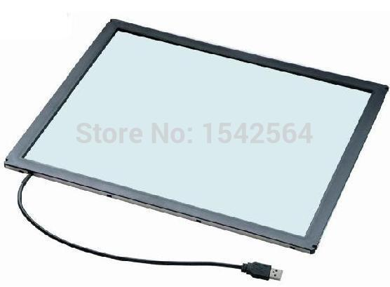 Hot selling 22 inch HD infrared touch screen frame touch overlay for led monitor 55 inch 6 finger points ir touch screen overlay infrared multi touch screen frame for led