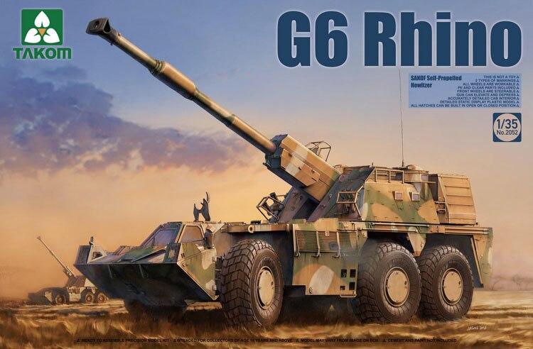 ФОТО Takom 1/35 G6 Rhino SANDF Self-Propelled Howitzer #2052