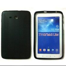 Черный для Samsung Galaxy Tab 3 Lite 7.0 T110 Планшеты Мягкие TPU чехол силиконовый гель Shell кожи для Samsung 7 tab 3 s3d088d