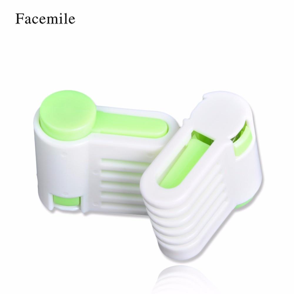 Facemile 2 pcs 5 Camadas DIY Conjunto Bolo Cortador Leveler Slicer Corte Fixador Ferramentas bolo ferramentas de decoração Para Cozinha
