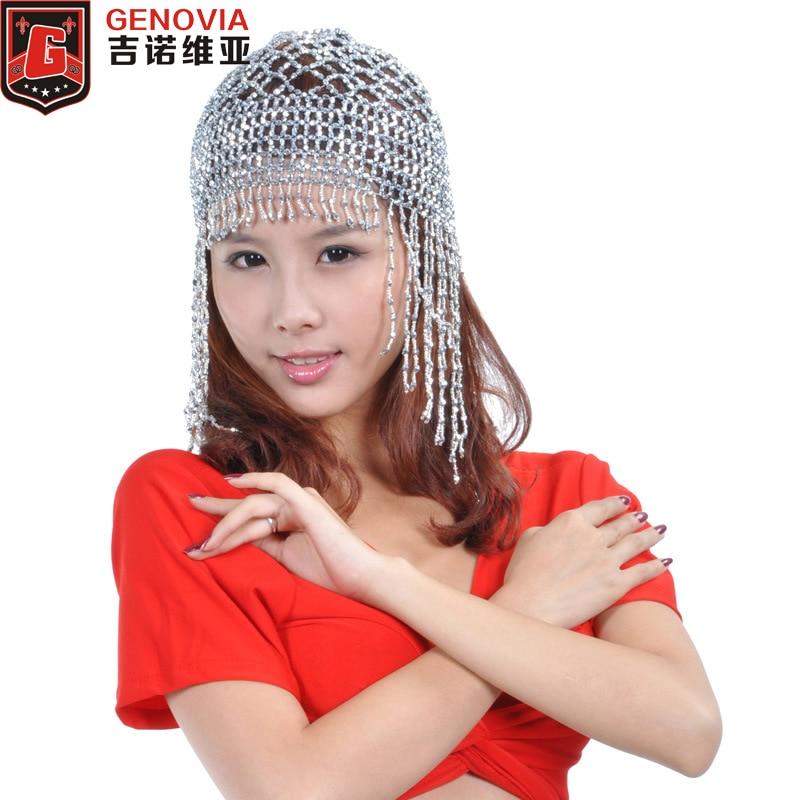 Belly Dance Headpiece Headwear Cap Hat Fancy Dress Costume
