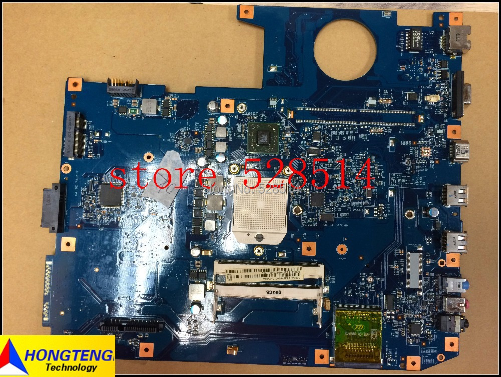 Original laptop motherboard for acer aspire 7535 MBPCF01001 48.4CE01.021 jm70-pu mb 100% Test ok