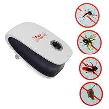 Rat Mouse Repeller Mosquito Repellent Killer Cockroach Trap Ultrasonic Pest Repeller EU US Plug