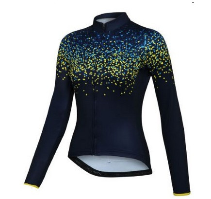 Prix pour 2017 Fille à Vélo jersey maillot ciclismo femmes cyclisme vélo sportwear vélo en plein air Respirable à manches longues vêtements