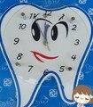 Dentes Dental Modelo Dom Relógio de parede