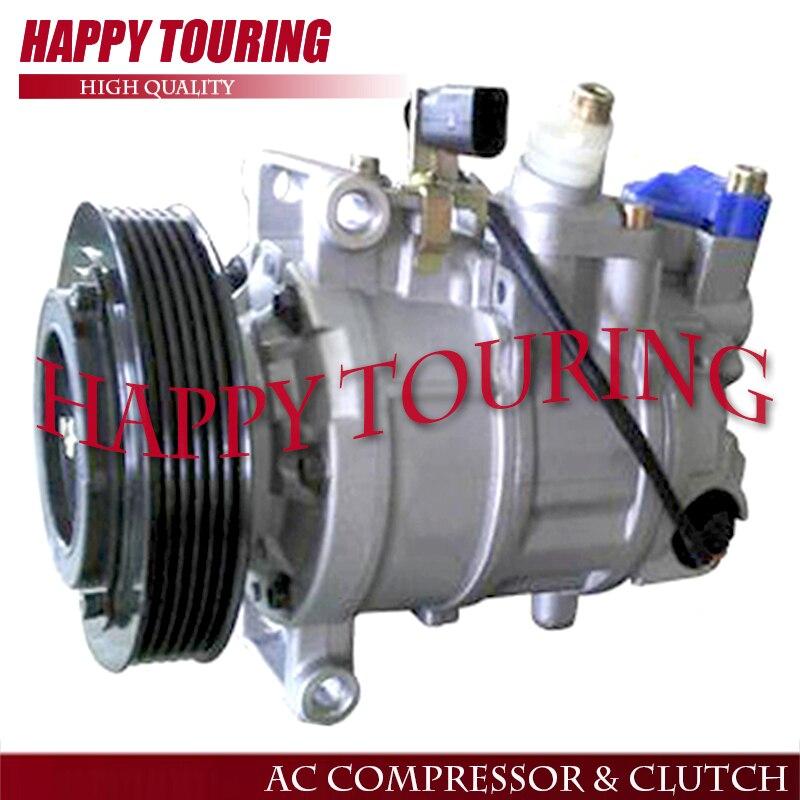 AC Compressor Clutch For Audi 100 200 5000 80 90 S4 V8 Quattro  Reman 57357