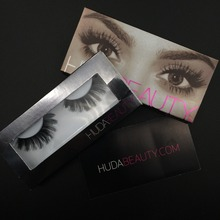Huda Beauty False Eyelashes Messy Cross Thick Natural Fake Eye Lashes Professional Makeup Bigeye Eye Lashes Handmade
