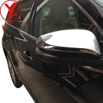 Chrome side spiegel abdeckung Für toyota highlander 2014 2015 2016 zubehör ABS auto rückspiegel für toyota kluger 2015 YCSUNZ
