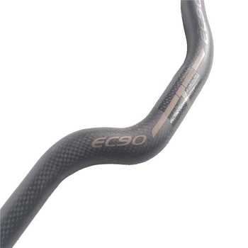 2019 EC90 Particle paint design Carbon full handlebar bent bar carbon fiber road bike handlebar 3K 40/42/44 cm Internal cable
