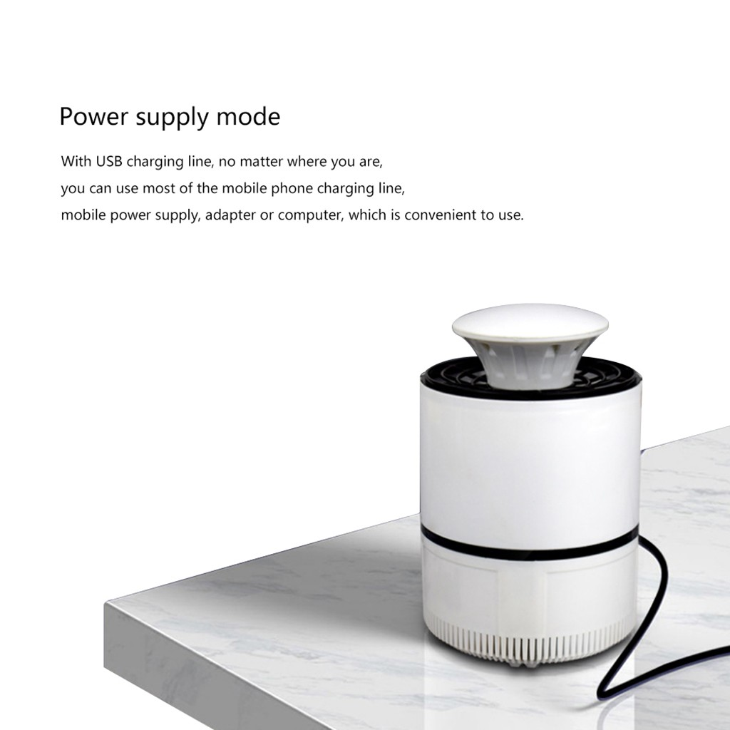 Image 5 - anti mosquito night light anti mosquito insect trap Mosquito Killer Light 5W USB Smart Optically Controlled Insect Killing Lamp-in Repellents from Home & Garden
