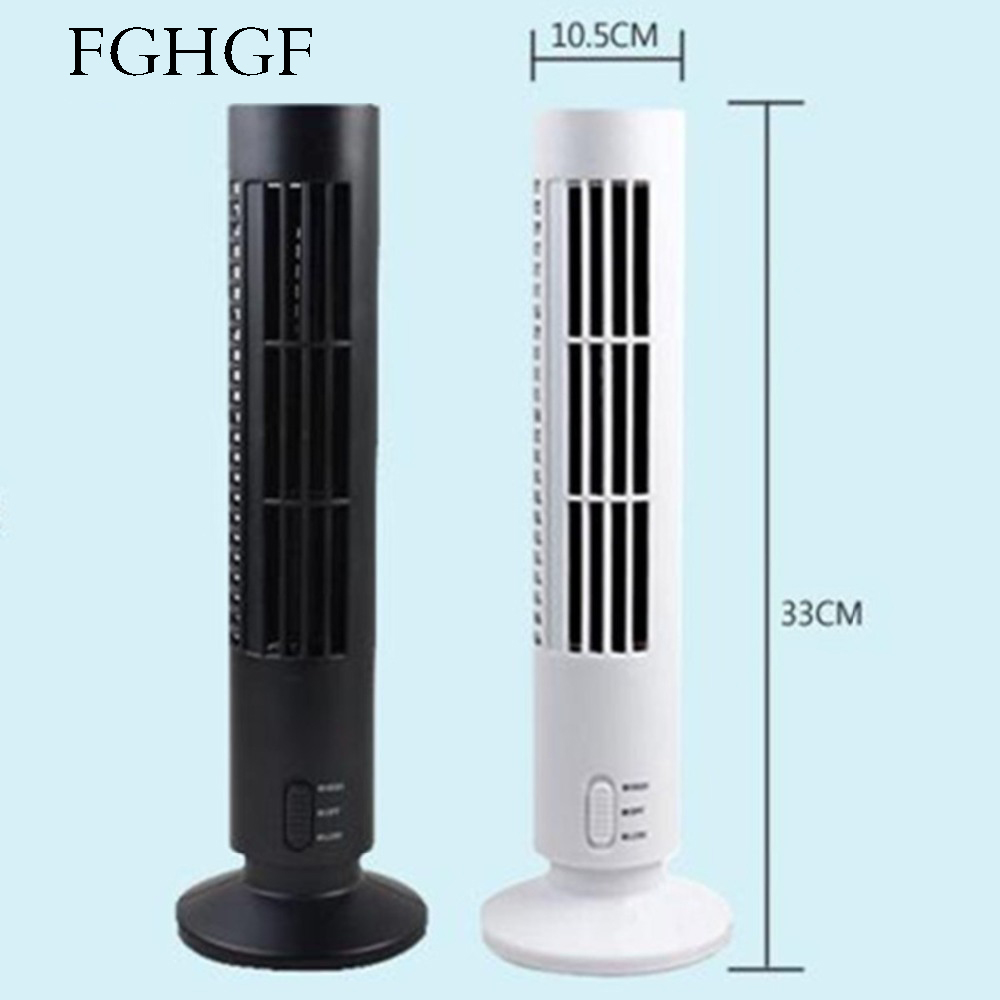 Portable Usb Mini Tower Fans Rotary Fans Leafless Fans Table Fans Fans Cooling Air Conditioners Purifiers Computers Notebooks Up-To-Date Styling Home Appliances