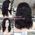 Cheia Do Laço Perucas de Cabelo Humano Brasileiro da Onda Do Corpo Lace Front Wigs perucas Cor Natural do cabelo brasileiro peruca Cheia do laço para as mulheres negras