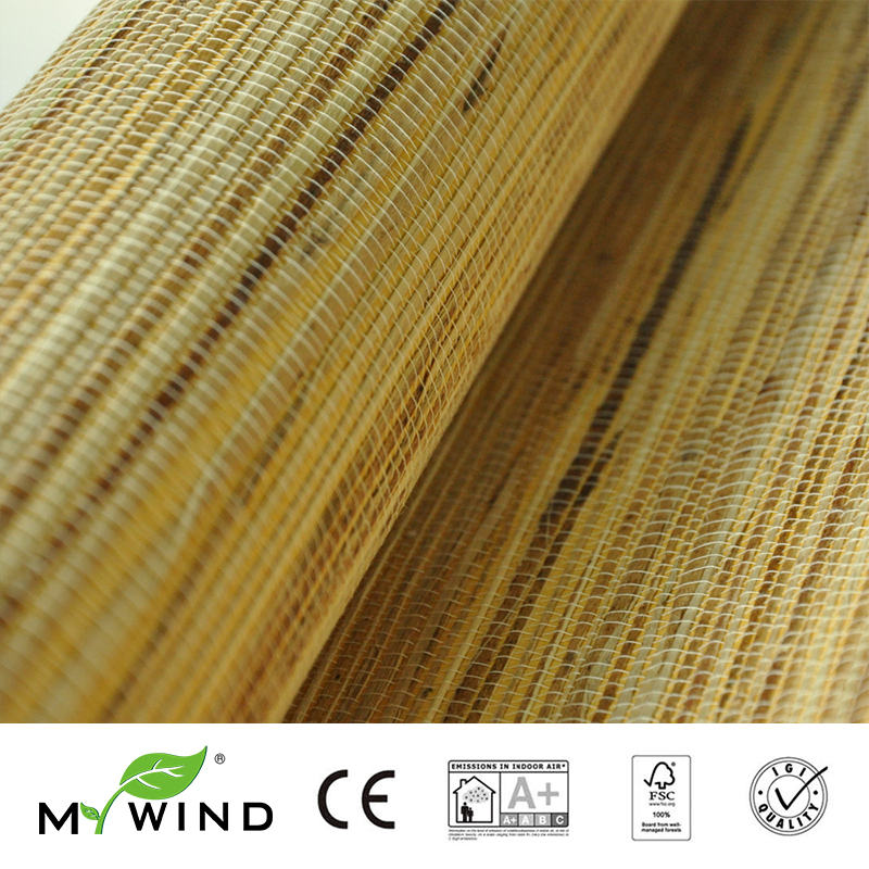 2019 MY WIND Grasscloth Wallpaper Raw Jute Abstract Plain 3D Wallpaper Luxury Wall Paper For Bedroom Living Room Home Decor