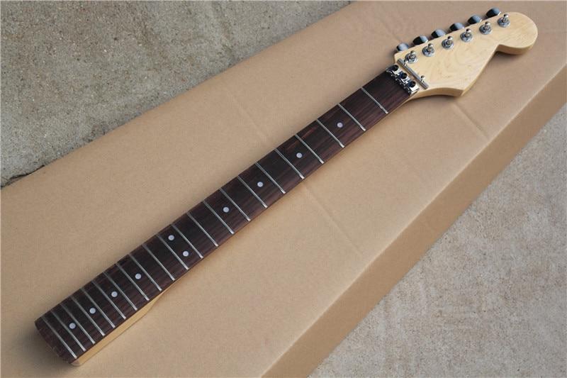 factory custom rosewood fretsboard electric guitar neck with machine head big headstock locking. Black Bedroom Furniture Sets. Home Design Ideas
