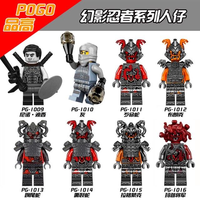 Figure Rivett Serpent Jouets Bloc Slackjaw Construction Tannin Avec Ninjago De Compatibles Lego Neuro Vermine Buffmillion Cendres Briques j5ARL4