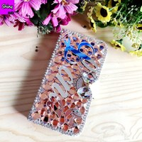2018 New Customize Name Personal Wallet Leather Case For IPhone 5 5s 6 6s 7 8