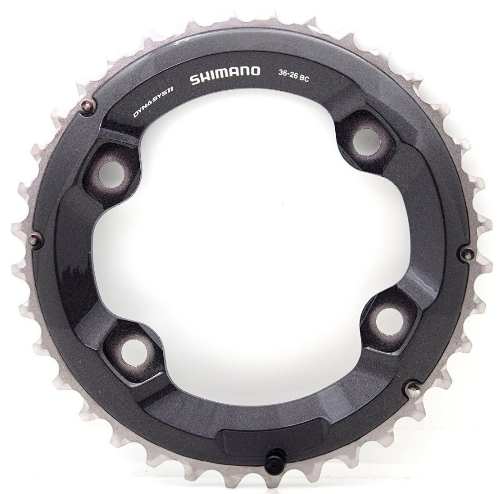 Image 2 - Shimano Deore XT M8000 double chainring 38 28 36 26 34 24t-in Bicycle Crank & Chainwheel from Sports & Entertainment